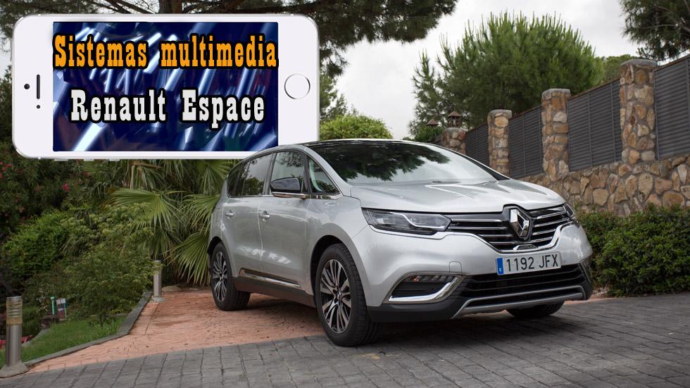 Renault Espace: analizamos su sistema multimedia (vídeo)