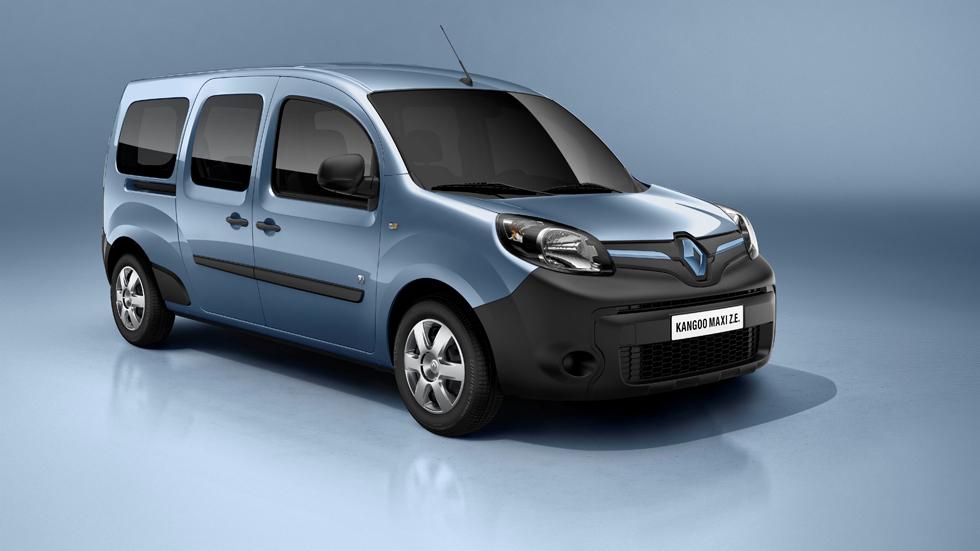 Las Renault Kangoo y Z.E. reciben su primer 'lavado de cara'