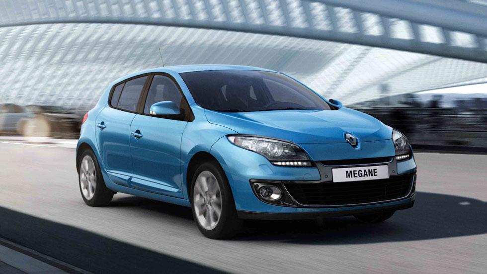 Renault Mégane, el más vendido en octubre