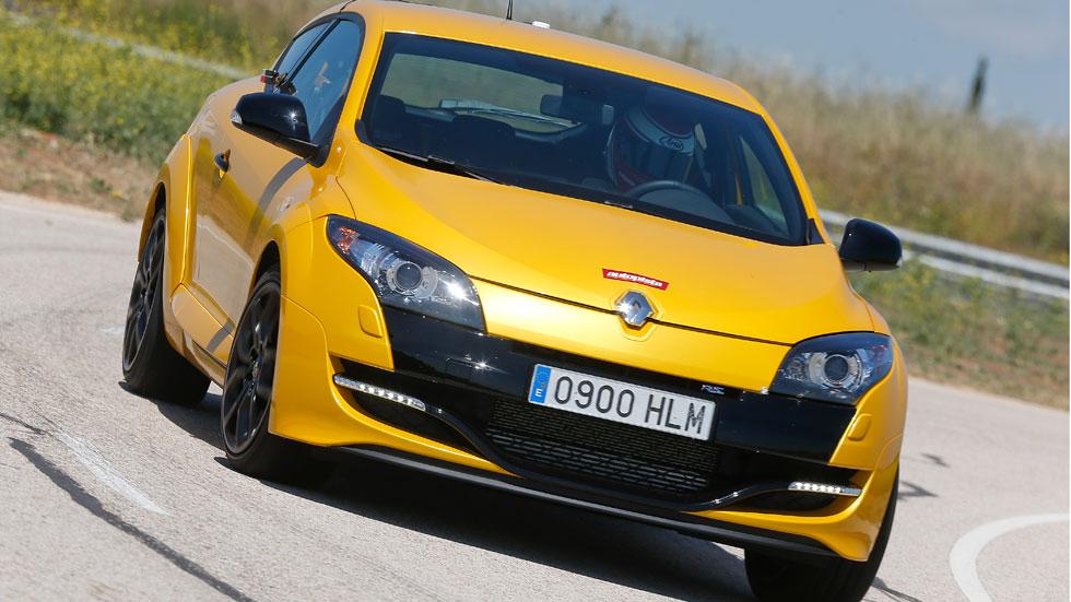 El Renault Mégane R.S., en circuito
