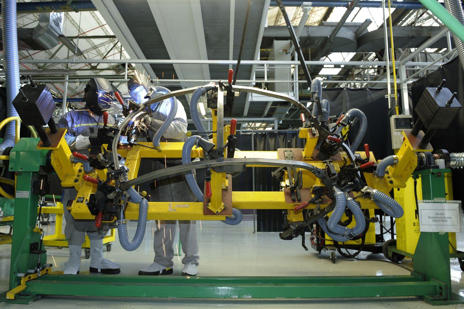 Renault Palencia para máquinas para ajustar la producción