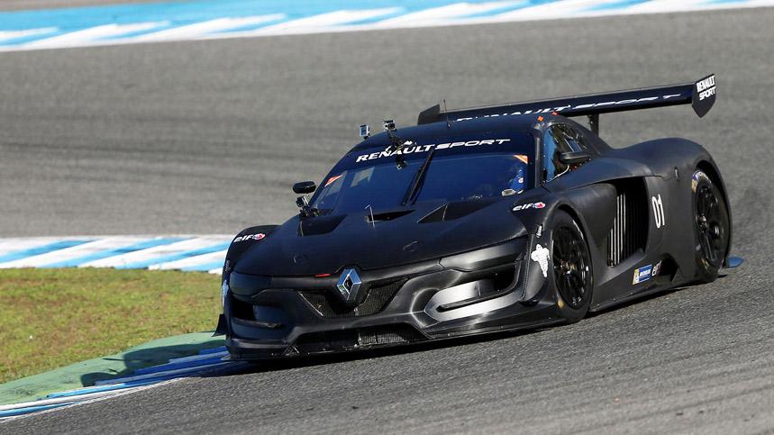 El Renault Sport R.S. 01 ya rueda en circuito
