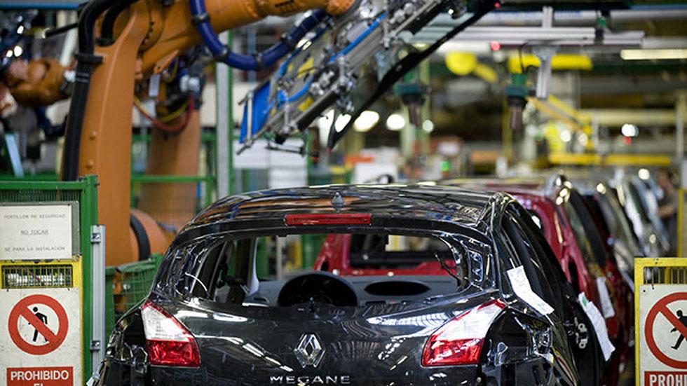 Renault suprime medio turno en la fabricación del Mégane en Palencia