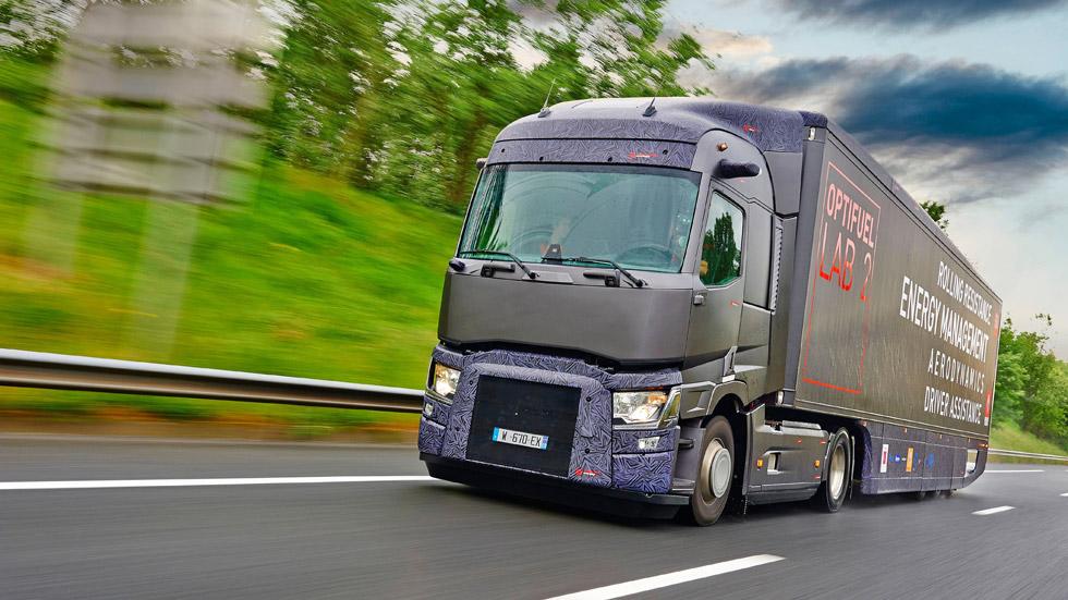 Renault Optifuel Lab 2, el camión-laboratorio del futuro