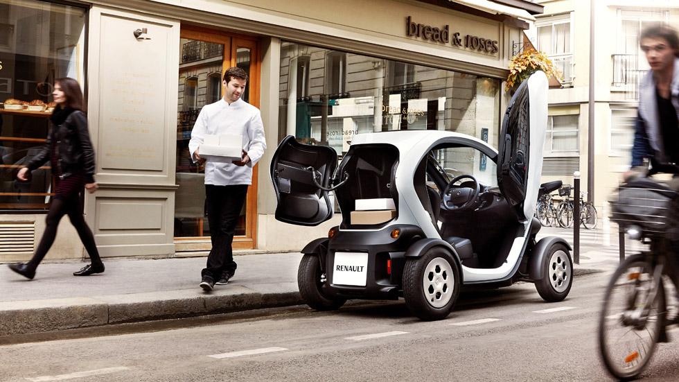 Renault Twizy Cargo, el urbano eléctrico para uso comercial