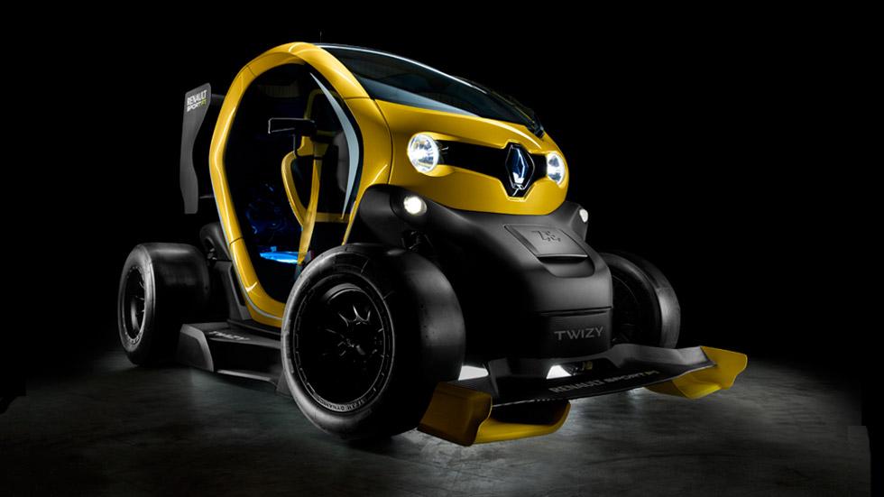 Renault Twizy RS F1: ¡un Twizy con KERS de Fórmula 1!
