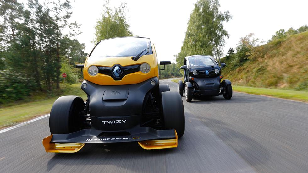 Renault Twizy RS F1, nos subimos al primer eléctrico con KERS de competición