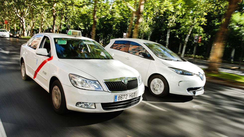 El Renault ZOE se enfrenta a un taxi: ¿seguirá su ritmo? Vídeo