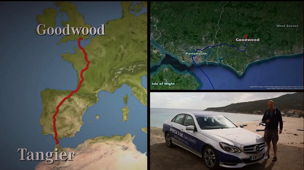 Casi 2.000 kilómetros con un solo depósito
