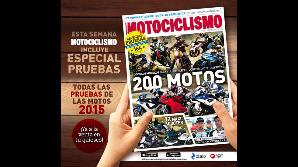 A la venta el número doble de Motociclismo con el Especial Pruebas 2015