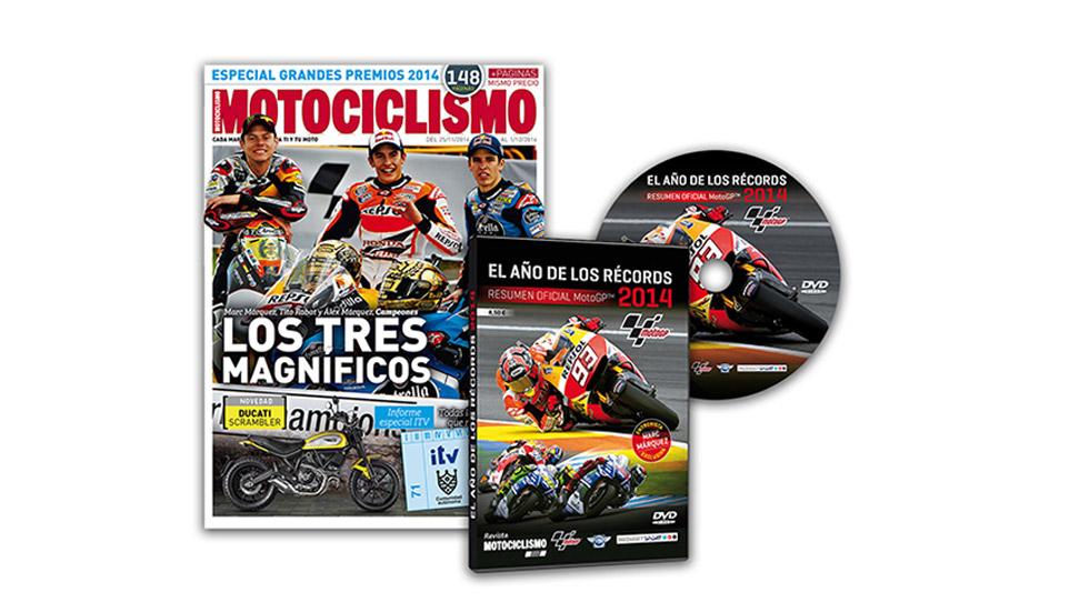 Revive la emoción del Mundial con el DVD resumen de MotoGP 2014