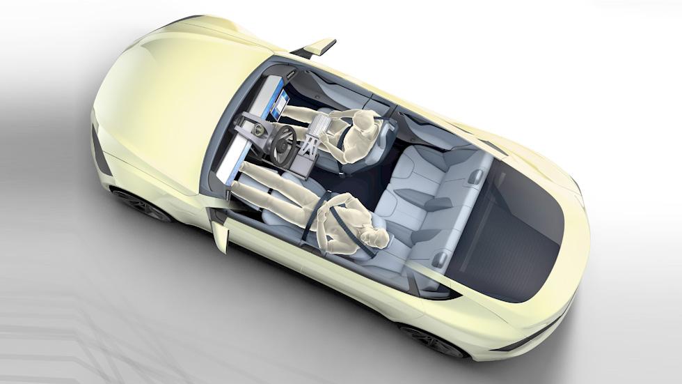 Rinspeed XchangE: el coche autónomo que redefinirá el interior del automóvil