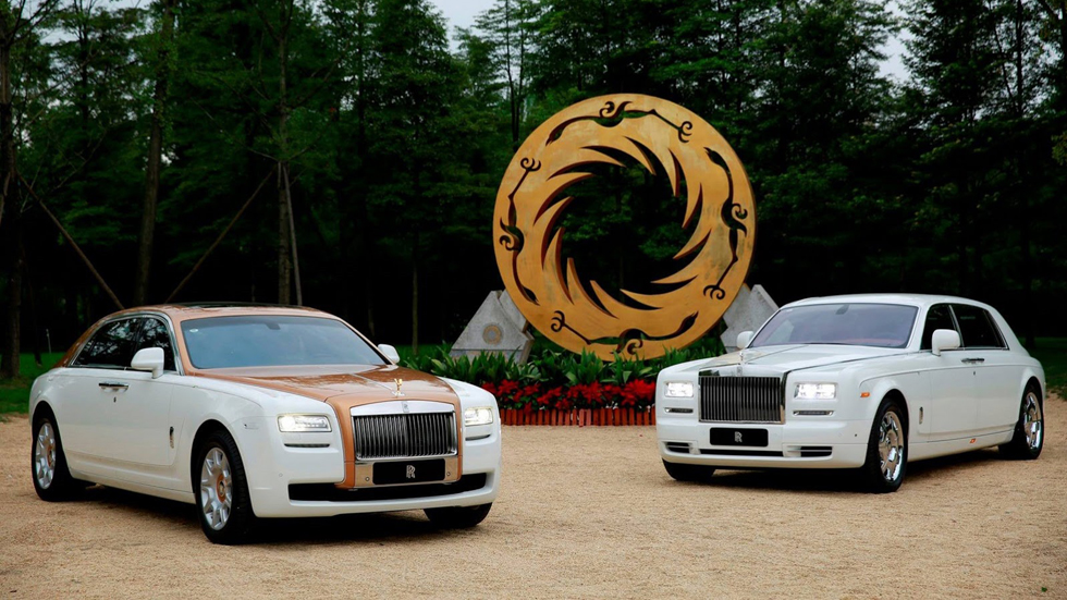 Rolls-Royce Ghost Chengdu Golden Sun Bird Edition, lujo sublime