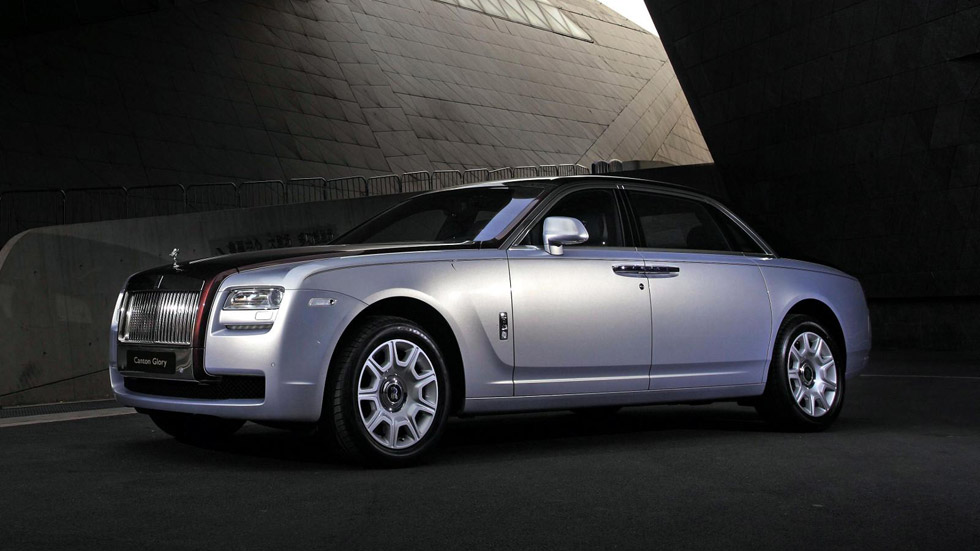 Rolls-Royce Canton Glory Ghost: homenaje a China