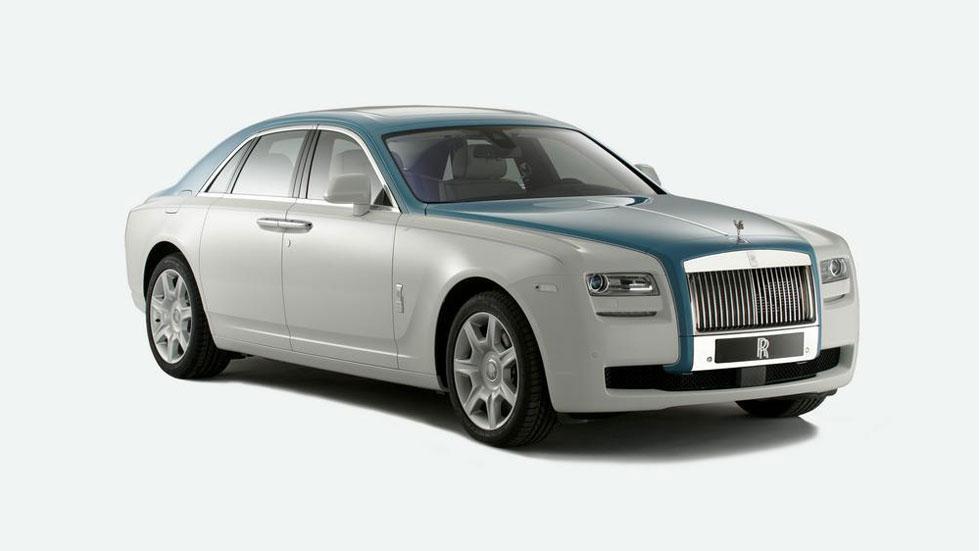 Rolls-Royce Ghost Firnas Motif Edition, un capricho único