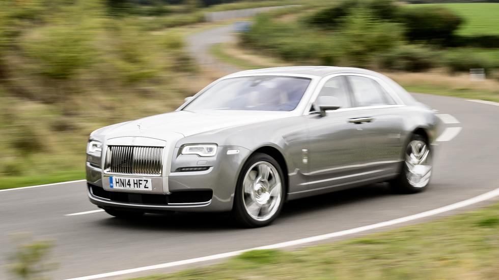 Primera prueba: Rolls-Royce Ghost Series II, poder absoluto