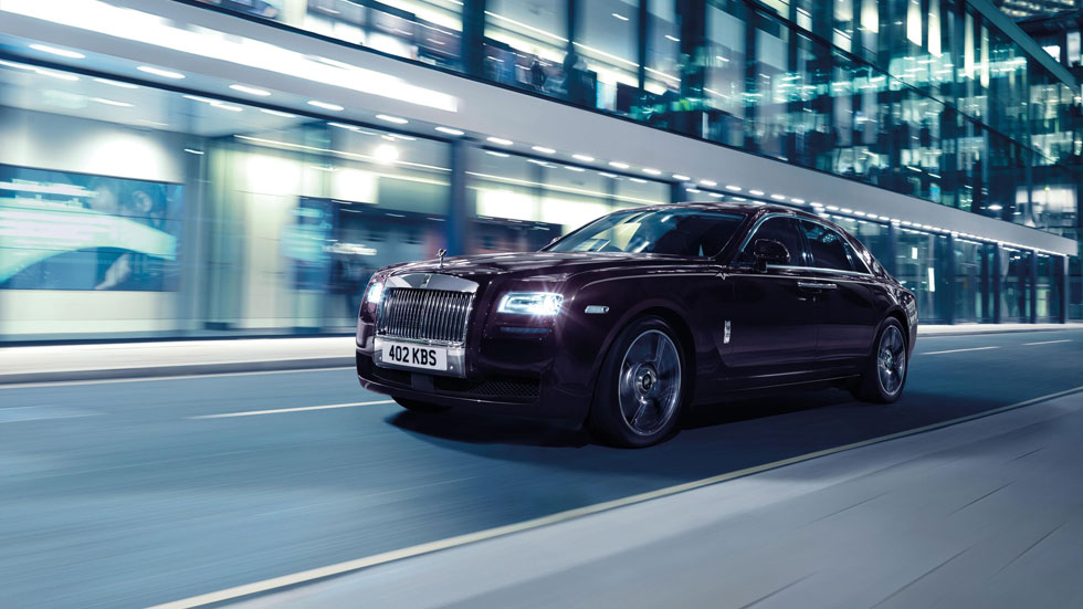 Rolls-Royce Ghost V Specification, un fantasma que asusta