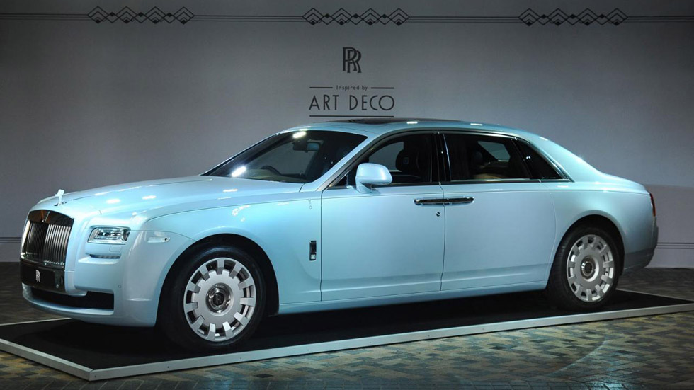 Rolls-Royce Ghost Extended Wheelbase Art Deco Edition
