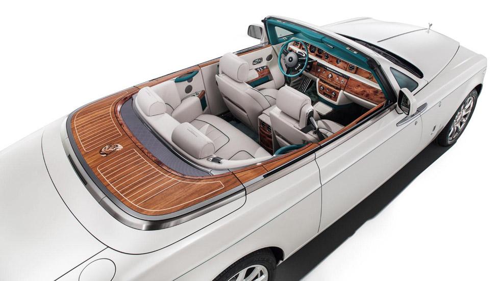 Rolls–Royce Maharajá Phantom Drophead Coupé, el Rolls más 'pavo'