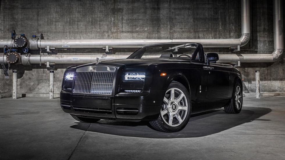 Rolls-Royce Phantom Drophead Coupé Nighthawk, lujo de aviación