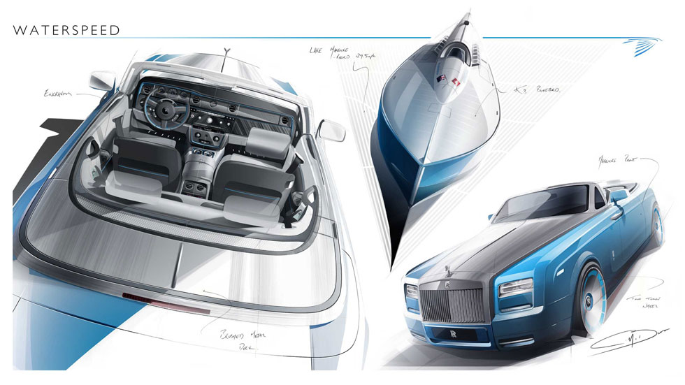 Rolls Royce Phantom Drophead Coupé 'Waterspeed Collection'