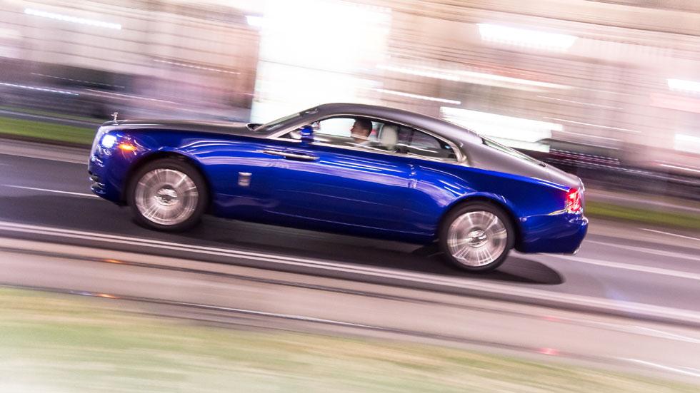 Contacto: Rolls-Royce Wraith, lujo y exceso