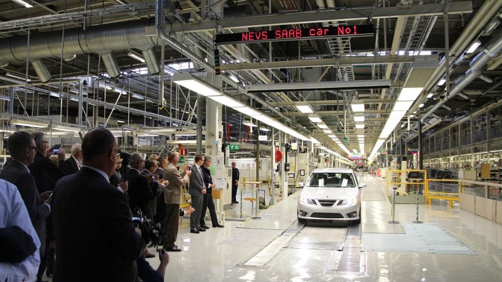 Saab vuelve a fabricar coches