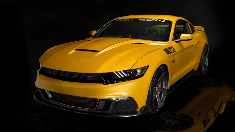 Saleen 302 Black Label, el Mustang más radical