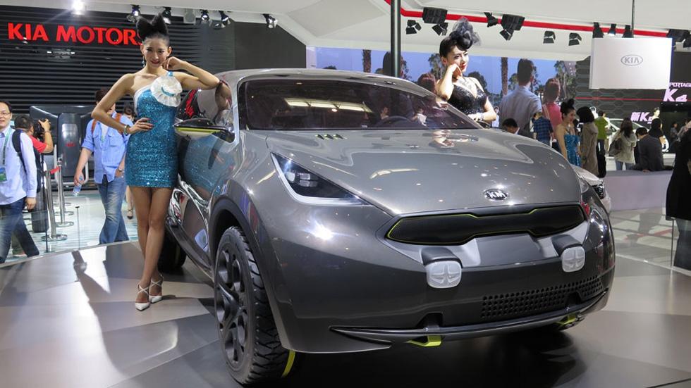 El Salón de Shanghai podría prohibir las modelos