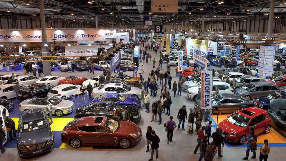 51 marcas y más de 4.000 coches en el Salón del Vehículo de Ocasión de Madrid