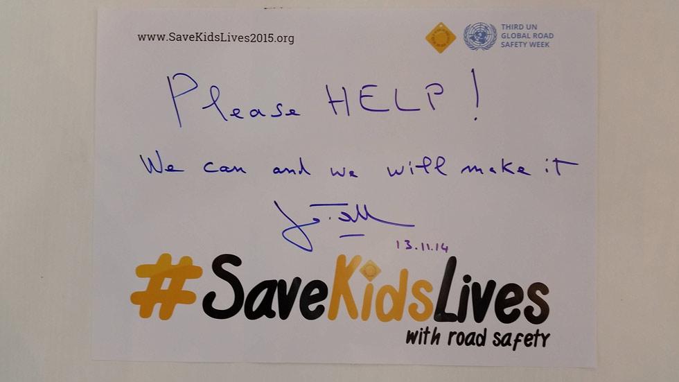 Challenge Bibendum: #Save Kids Lives, evitar la muerte de niños en carretera