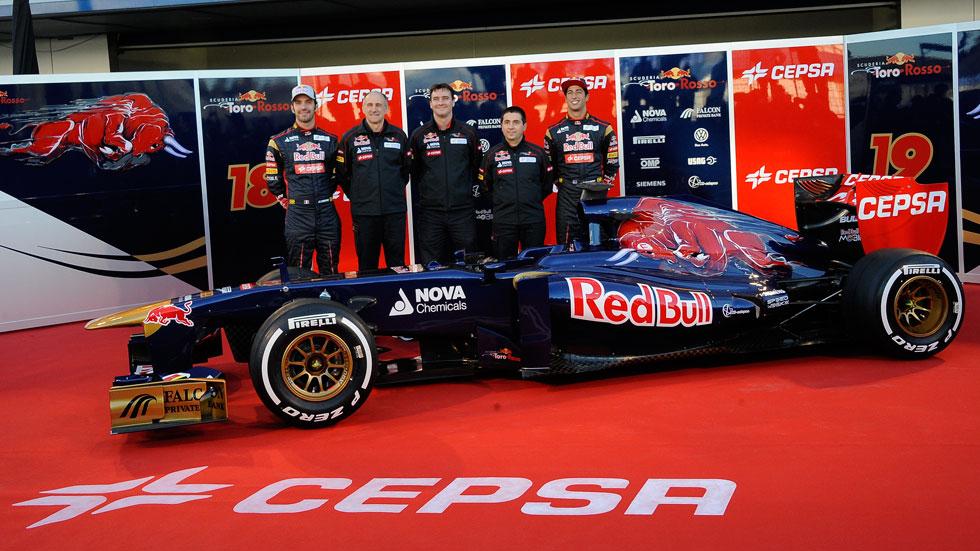 Scuderia Toro Rosso: continúa la apuesta por Vergne y Ricciardo