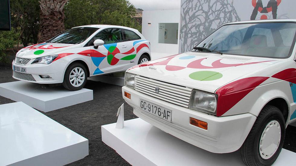 El Seat Ibiza recupera el espíritu y los colores de César Manrique