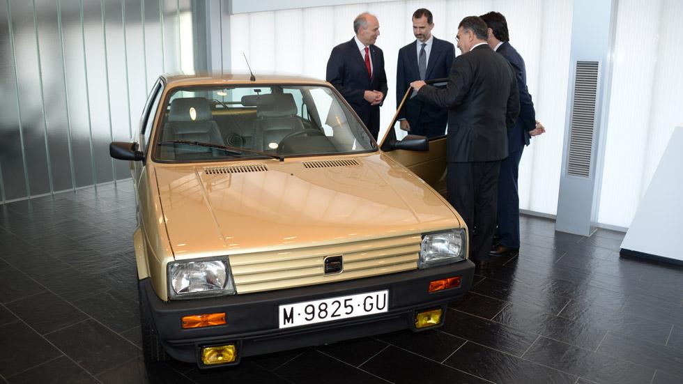 El primer coche del Rey Felipe VI fue… un Seat Ibiza