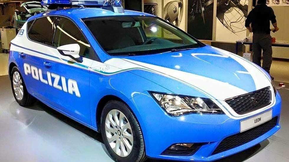 España: 1, Italia: 0. Los carabinieri conducirán Seat León