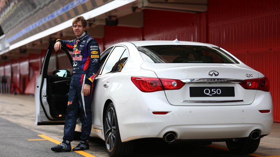 Sebastian Vettel, nuevo director de 'Infiniti Performance'