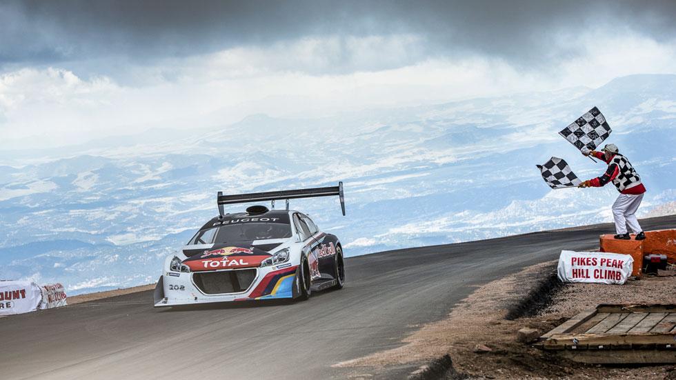 Sébastien Loeb, récord absoluto en Pikes Peak