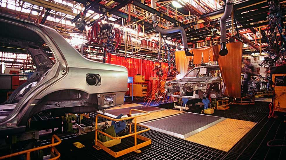 El sector del automóvil mantiene el crecimiento industrial