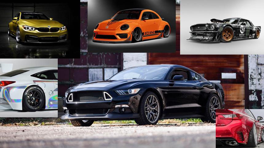 Los 10 coches más espectaculares del SEMA 2014