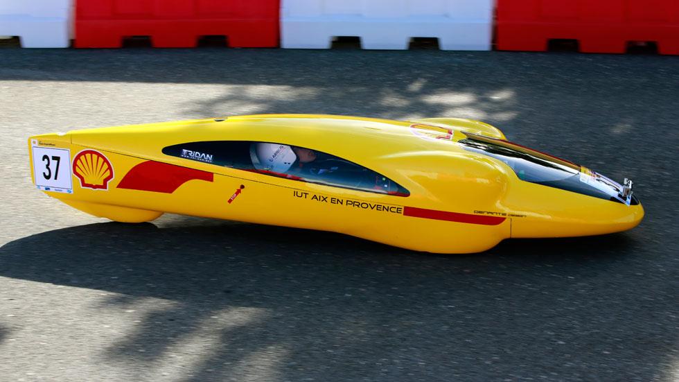 Shell Eco-Marathon: los prototipos que menos consumen