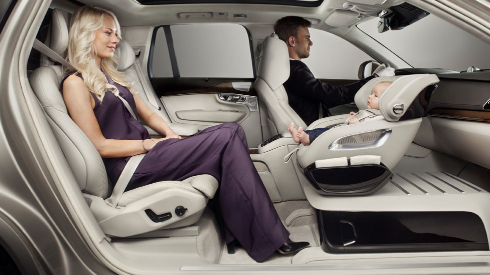 La silla infantil del futuro según Volvo
