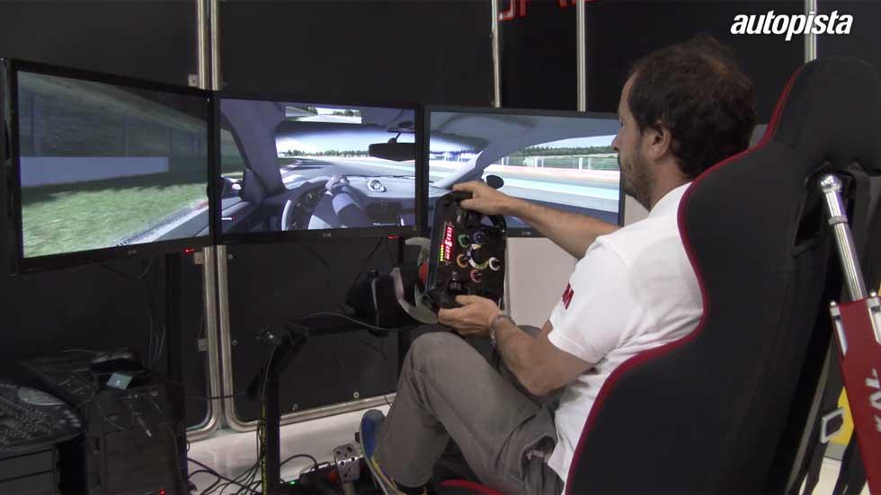 Los simuladores de conducción, la razón de ser de los pilotos (vídeo)