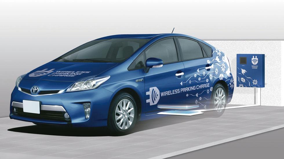 Toyota trabaja la carga inalámbrica de sus coches eléctricos
