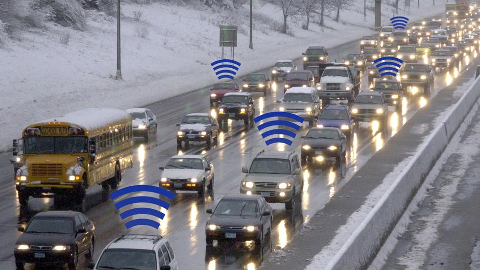 Sistema para evitar atascos que usa el Bluetooth