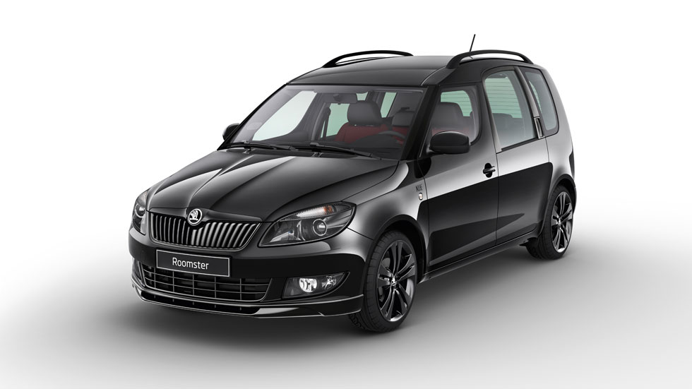 skoda fabia combi monte carlo y roomster noire. Black Bedroom Furniture Sets. Home Design Ideas