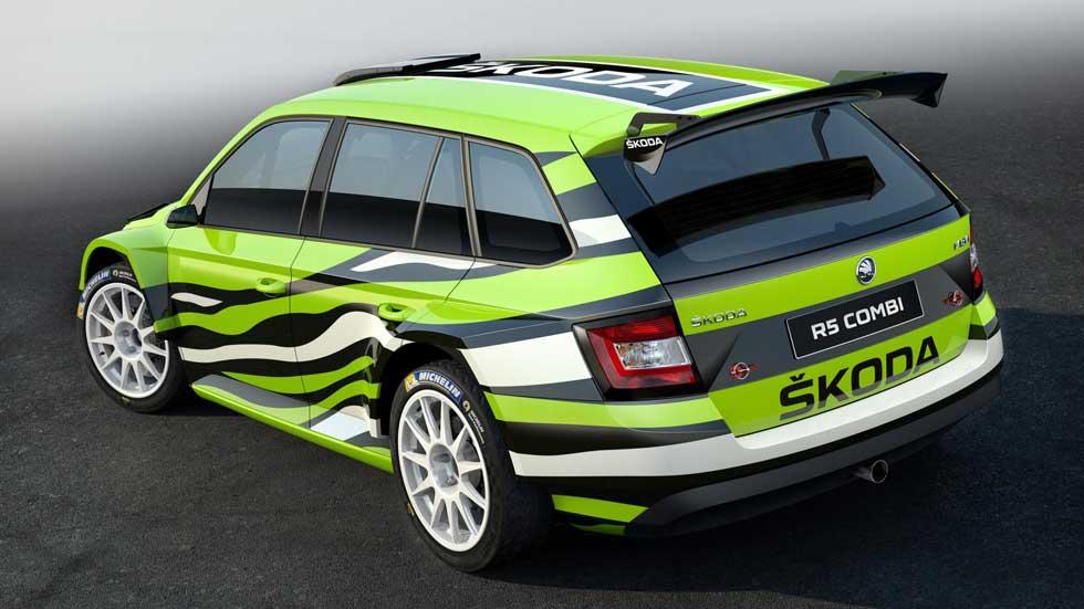 Skoda Fabia Combi R5, un familiar que se quiere ir de rallyes