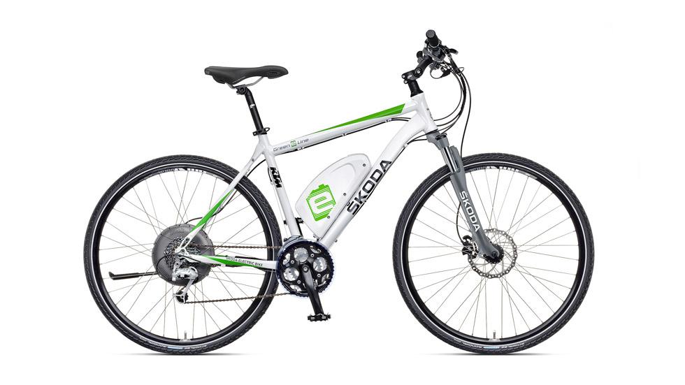 Skoda lanza la Green E Line, su bicicleta eléctrica