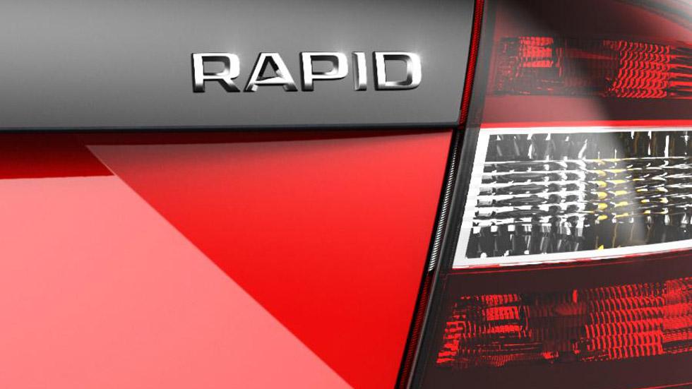 ¿Primer anticipo del futuro Skoda Rapid RS?