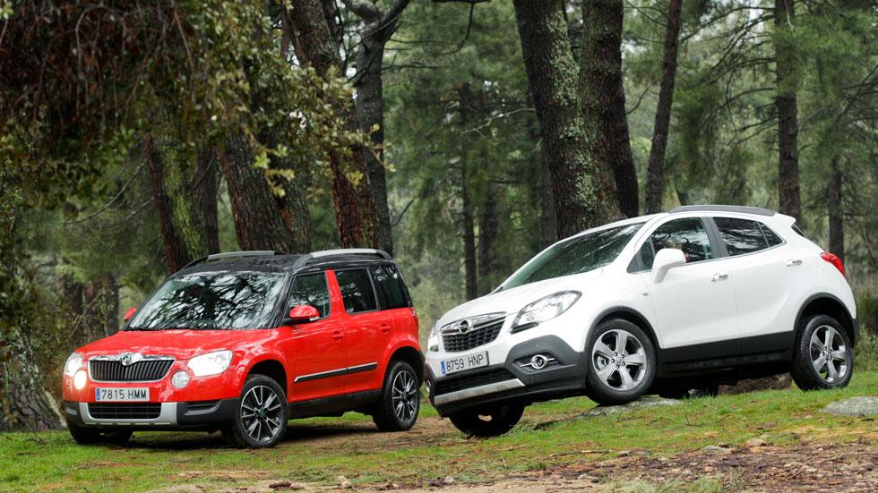 Skoda Yeti 2.0 TDI CR vs Opel Mokka 1.7 CDTI 130 Excellence 4x4 S/S