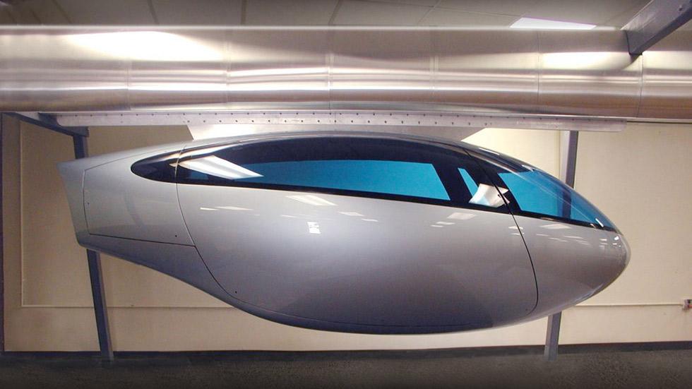 SkyTran o los 'taxis voladores', la solución a los atascos